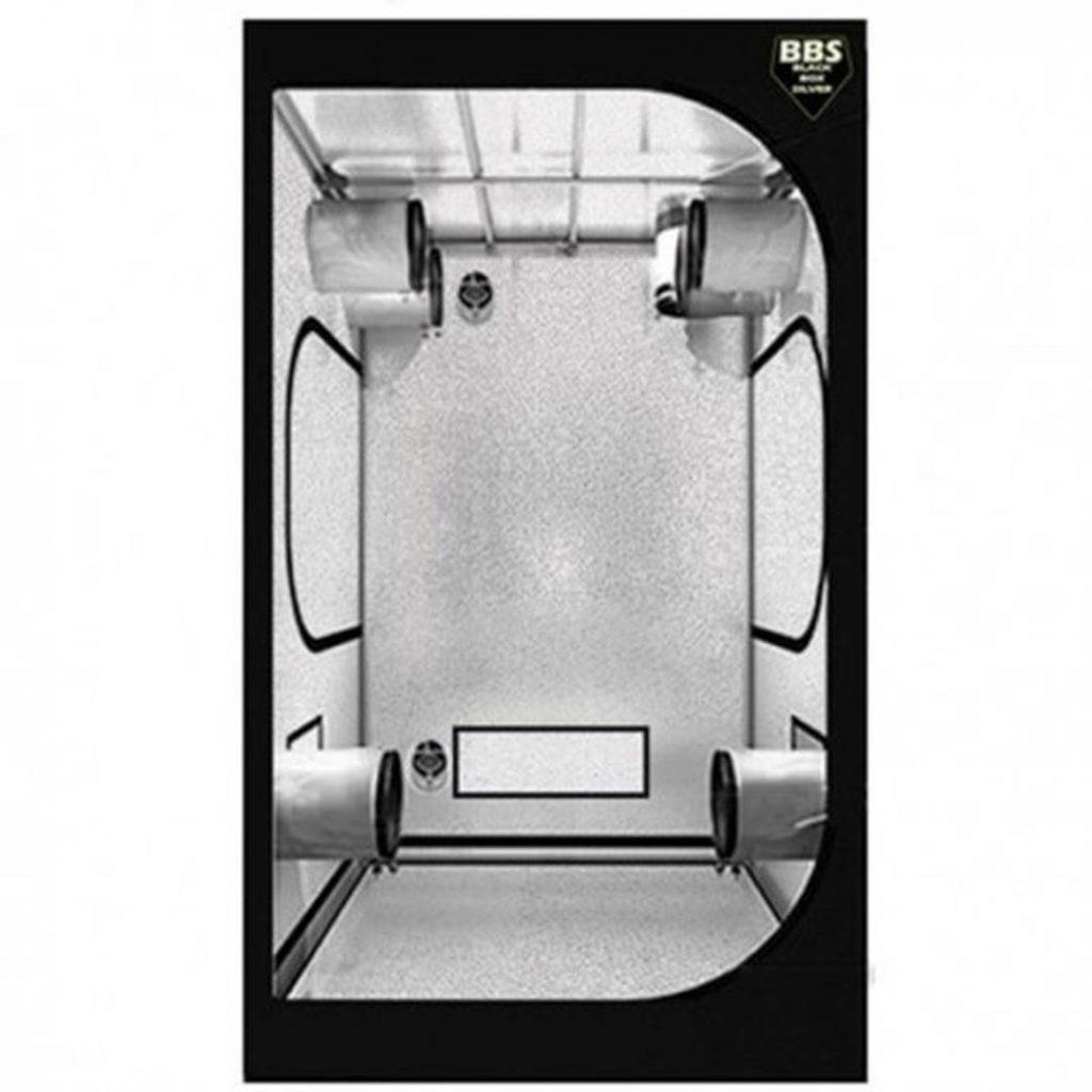 Black Box Silver 100x100x200