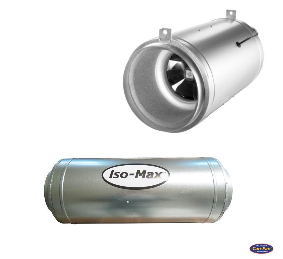 Vent ISO-MAX 315MM 2500M3/H (SOUNDPROOF) Pa zhurmë