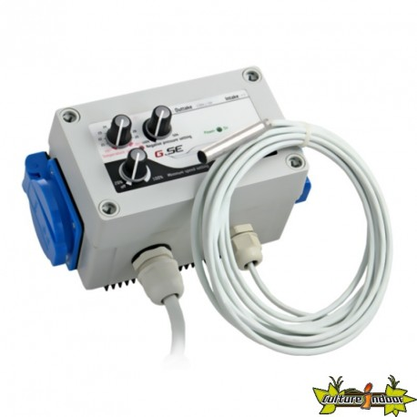 GSE SUPERFAN CONTROLLER 2 AIR EXTRACTOR WITH 2 220 V SOCKETS